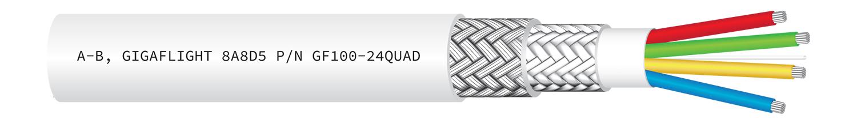 GF100-24QUAD 100Base-T Quadrax Ethernet Cable
