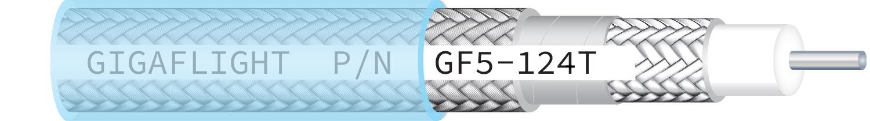 GF5-124T Low-Loss High-Performance 50 Ohm Coax