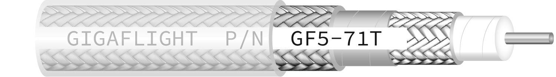 GF5-71T Low-Loss High-Performance 50 Ohm Coax