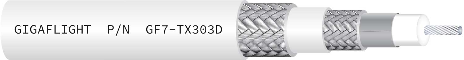 GF7-TX303D 75 Ohm Triaxial HD Video Cable