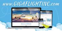 GIGAFLIGHT has a new website